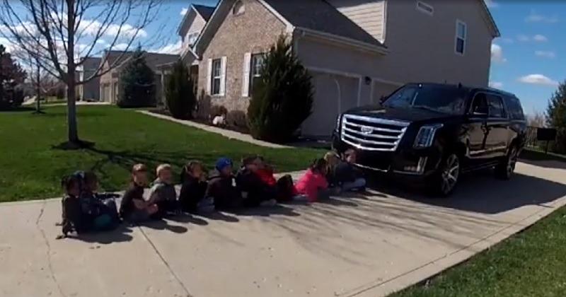 SUV Blind Zone