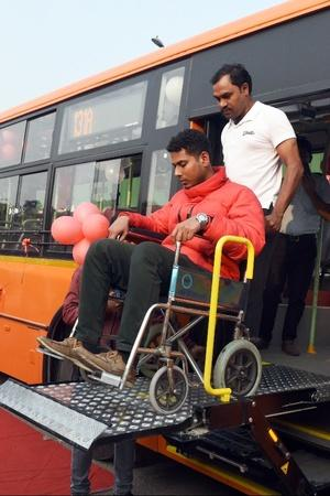 Buses to have provisions for differently abled passengers