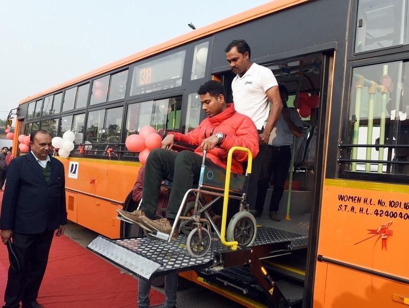 Buses to have provisions for differently abled passengers, Auto News