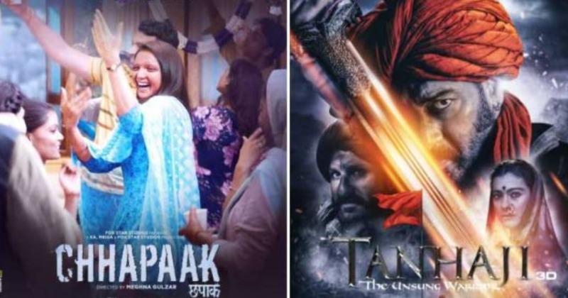 Chhapaak and Tanhaji