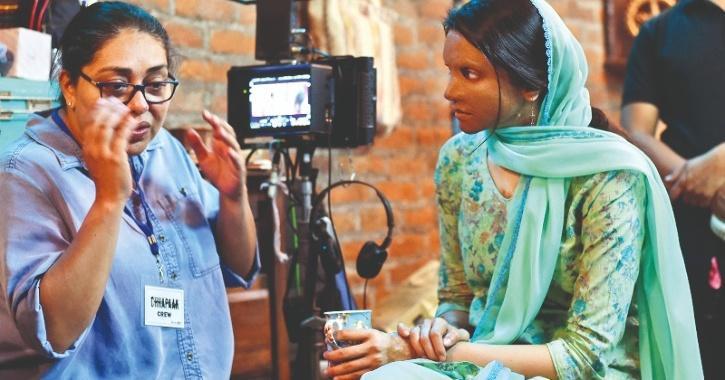 Meghna Gulzar with Deepika Padukone