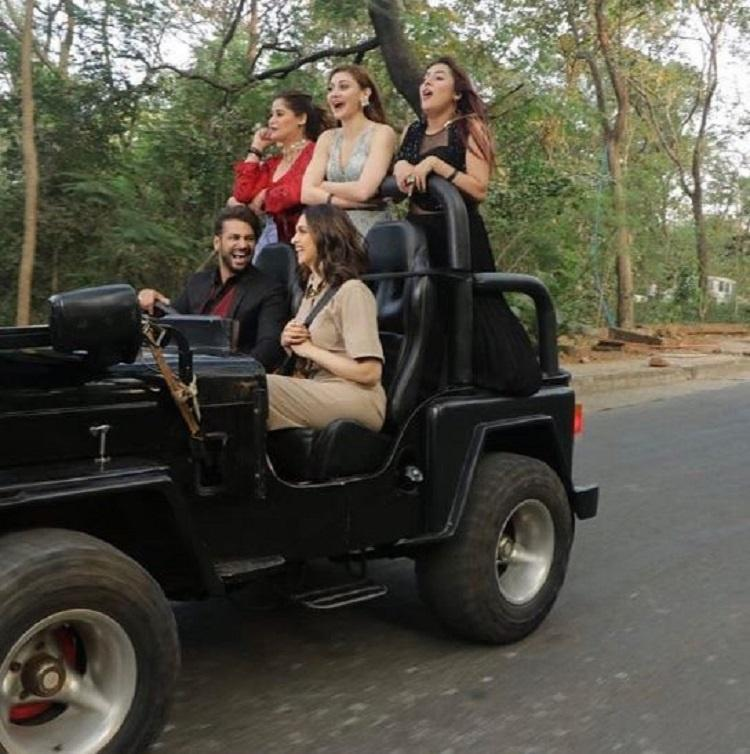 Deepika Padukone takes bigg boss 13 contestants for a ride