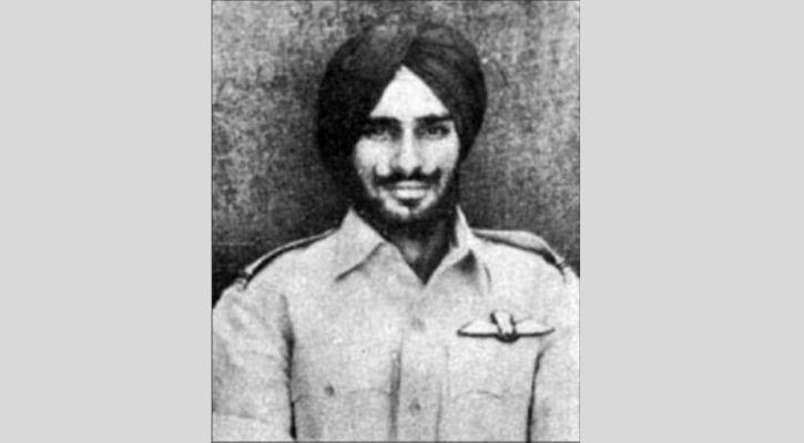 Flying Officer Nirmaljit Singh Sekhon