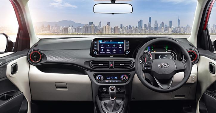 Hyundai Aura Rear Profile