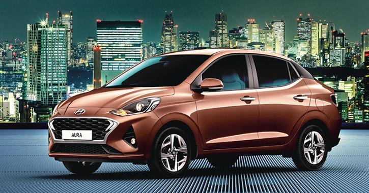 Hyundai Aura Side Profile