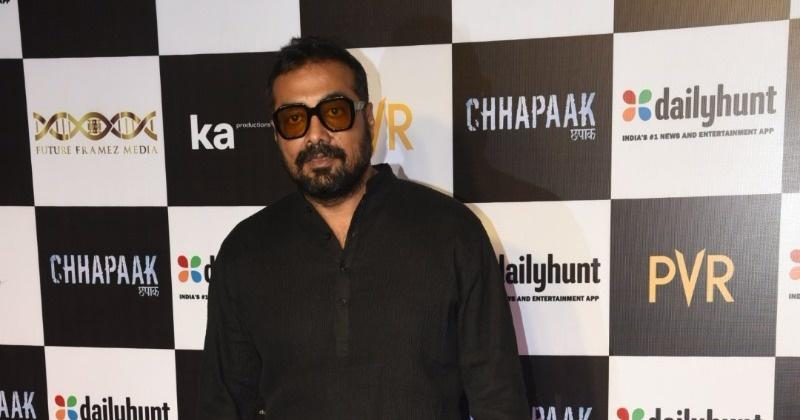 Anurag Kashyap at Chhapaak screening.