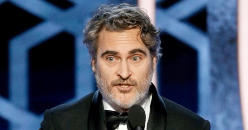 People Slam Golden Globes For Cutting Off Joaquin Phoenix