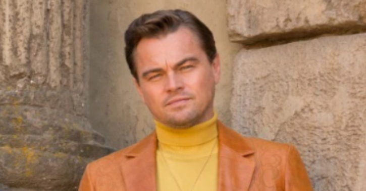 leonardo dicaprio in once upon a time in hollywood Oscar 2020.