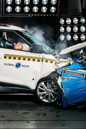 Mahindra XUV300 Crash Test Results