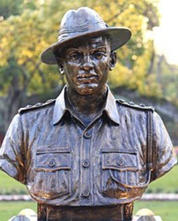 Statue of Captain Manoj Kumar Pandey