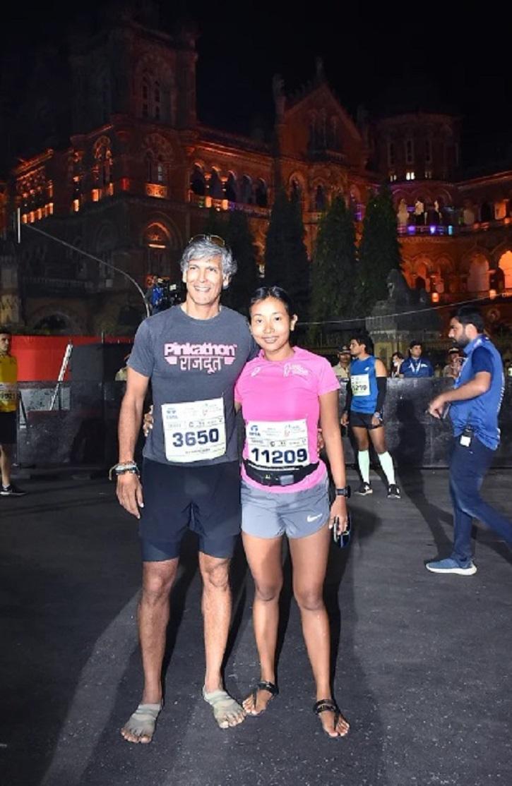 Tiger Shroff To Milind Soman, Celebs Participate In Mumbai Marathon & Raise Environmental Issues