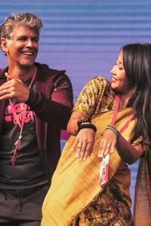 Milind Soman and Wife Ankita