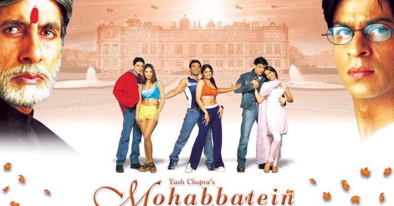 20 years of Mohabbatein: Films That Are Turning 20 In 2020