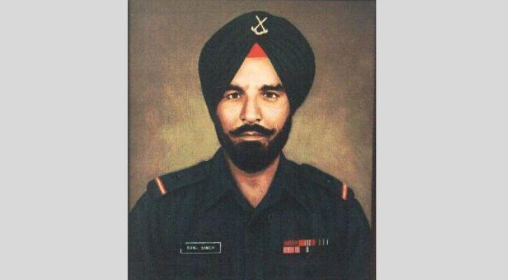 Naib Subedar Bana Singh