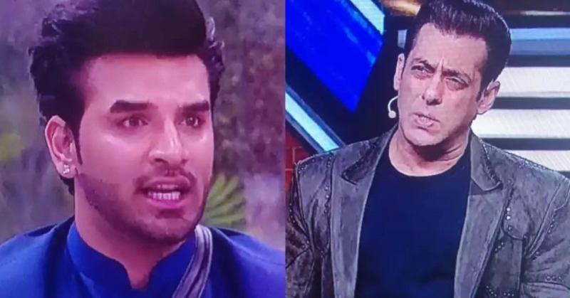Paras Chhabra and Salman Khan on Bigg Boss 13.