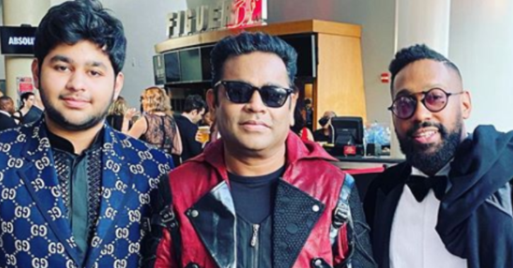 AR Rahman Makes A Grand Entry At Grammys 2020, Poses With Maroon 5