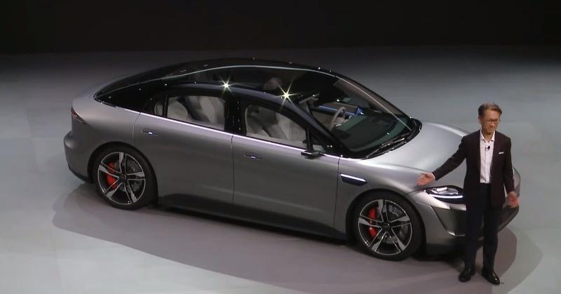 Sony Vision S, electric car concept
