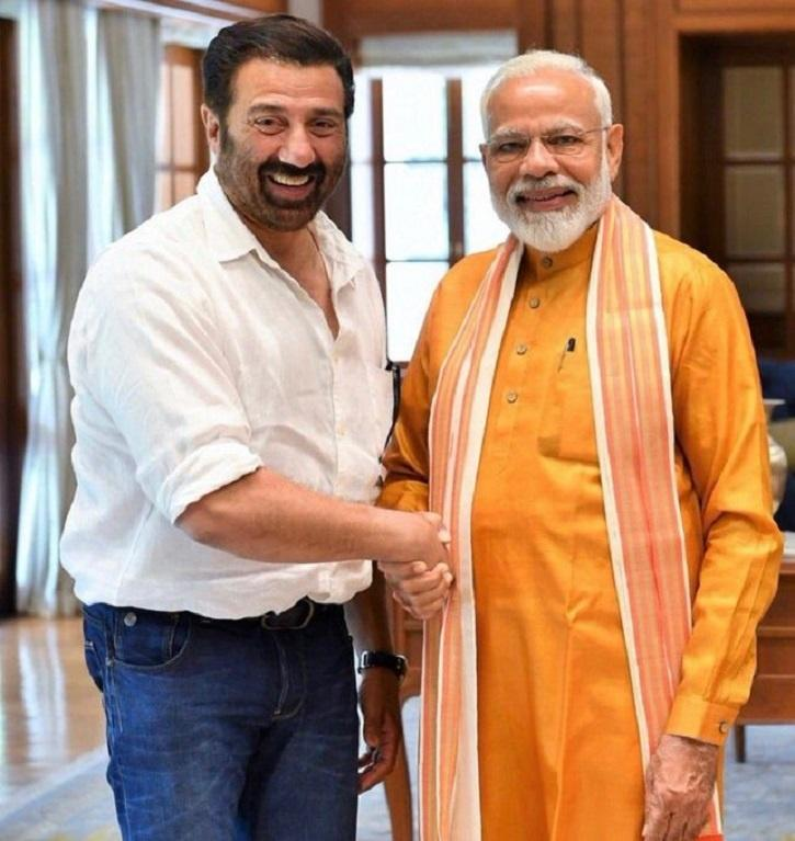 Sunny Deol with PM Modi