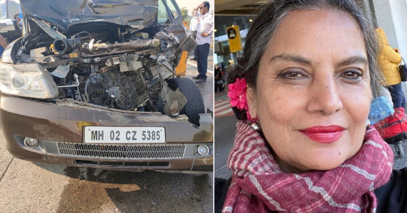 Post Horrific Accident, Shabana Azmi Gets Insensitively Trolled, FIR Lodged Against Her Driver