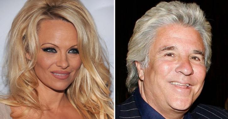 Pamela Anderson marries Jon Peters.