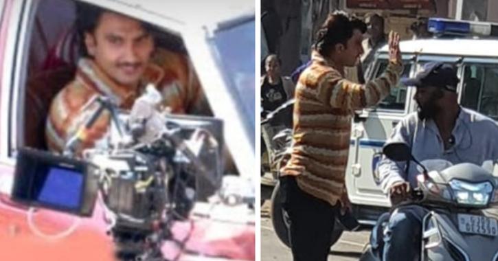 Leaked Pics & Videos Of Ranveer Singh As Gujju Man In