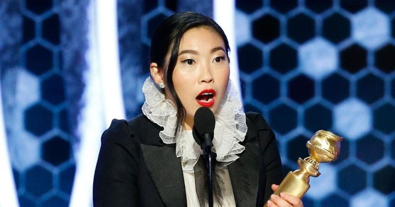 Awkwafina Makes History, Becomes First Asian Descent To Win A Golden Globe For Best Actress