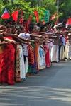 620km Long human Chain In Kerala