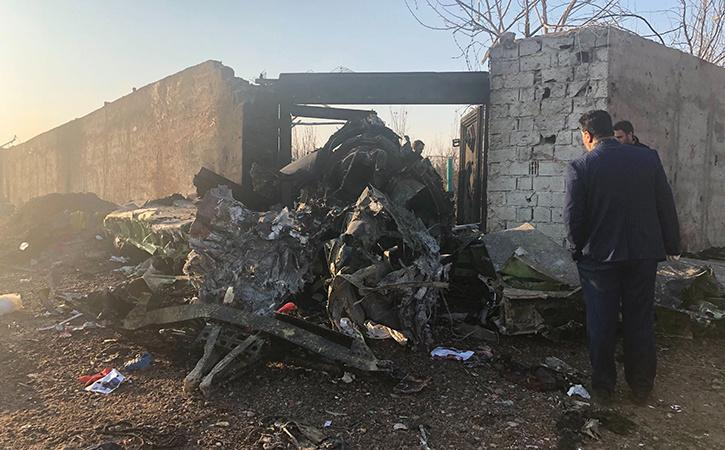 Ukrainian Boeing 737 Crashes In Iran