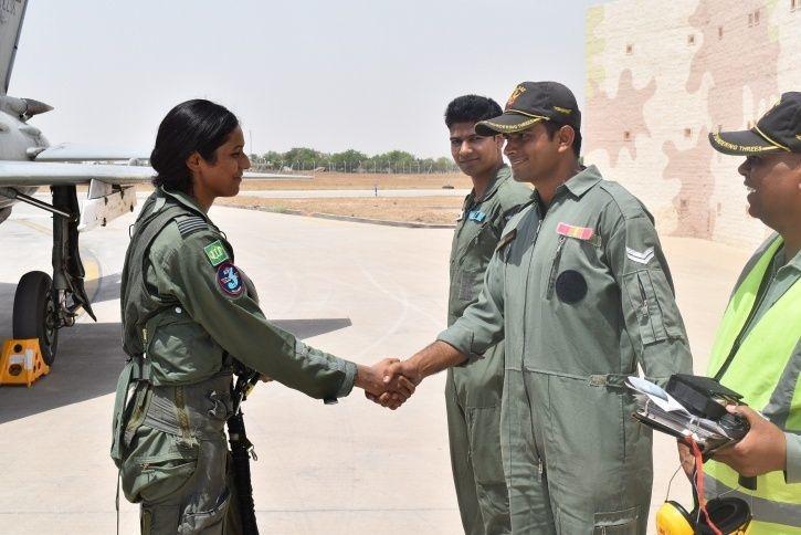 Flight Lieutenant Bhavna Kasturi