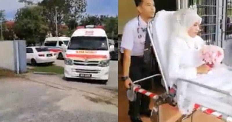 Image result for ride-groom-arrived-in-an-ambulance-