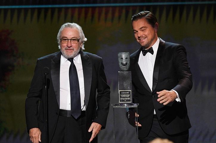 Leonardo DiCaprio has confirmed that Robert De Niro will star alongside him in Martin Scorsese