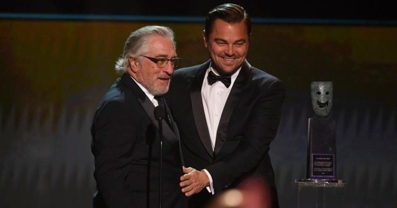 Leonardo DiCaprio, Robert De Niro
