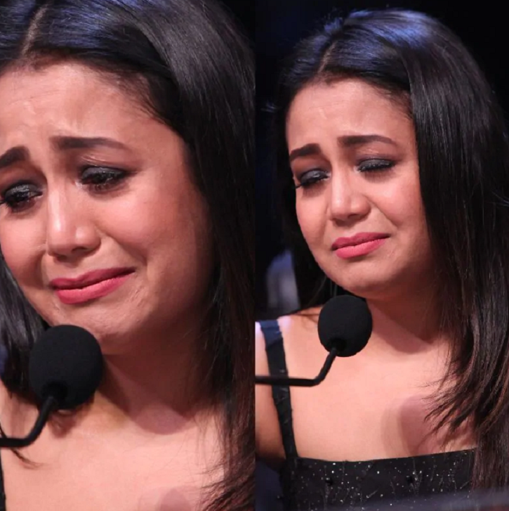 Neha Kakkar crying