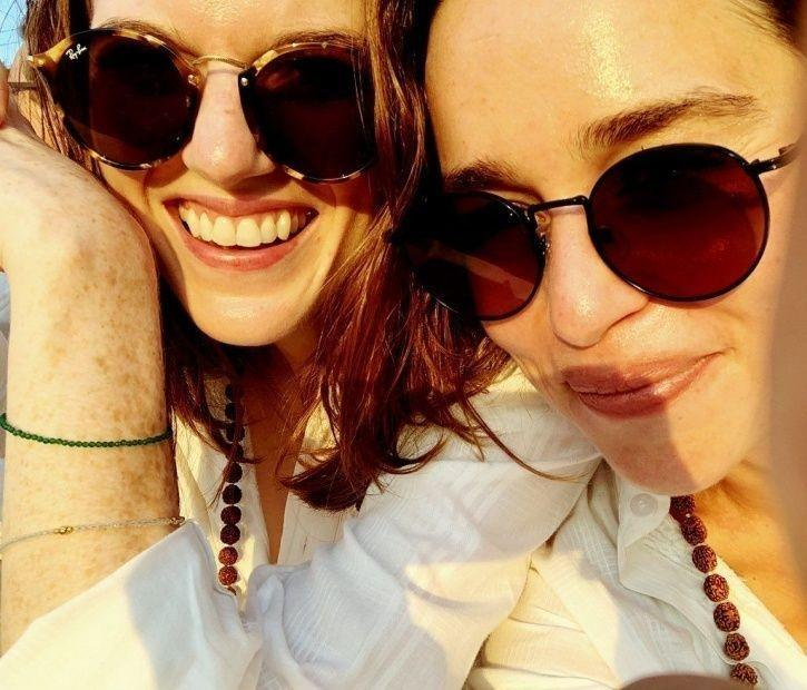 Khaleesi AKA Emilia Clarke Is In India With Rose Leslie