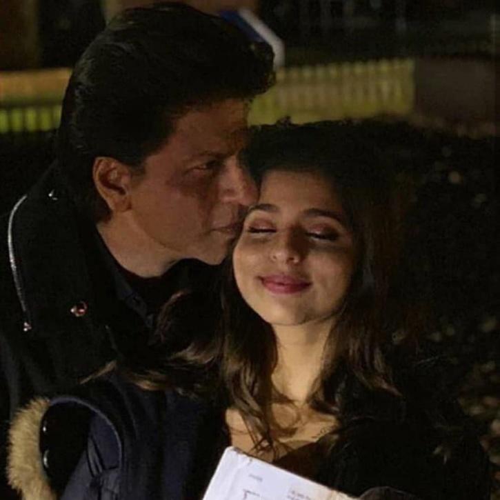 Shah Rukh Khan with daughter Suhana.