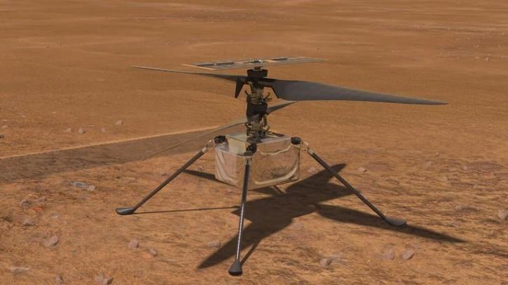 NASA Ingenuity Mars Helicopter Designed By IIT Alumni Is ...