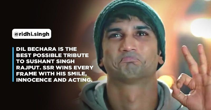 Sushant Singh Rajput's Dil Bechara Is Out & Fans Call It The Biggest Hit Of His Career