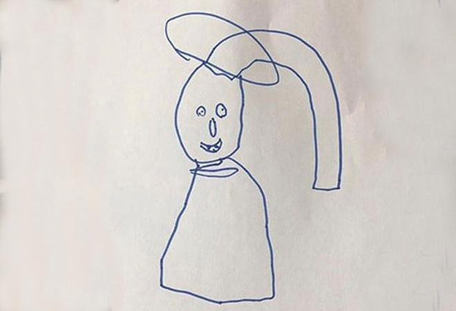 Dad Turns His Kid's Drawings Into Reality And It's Terrifyingly Funny