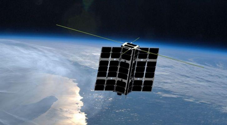 nanosatellites to monitor space debris based on lidar technology