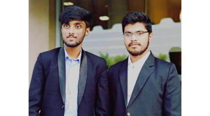 Digantara co-founders Anirudh Sharma and Rahul Rawat