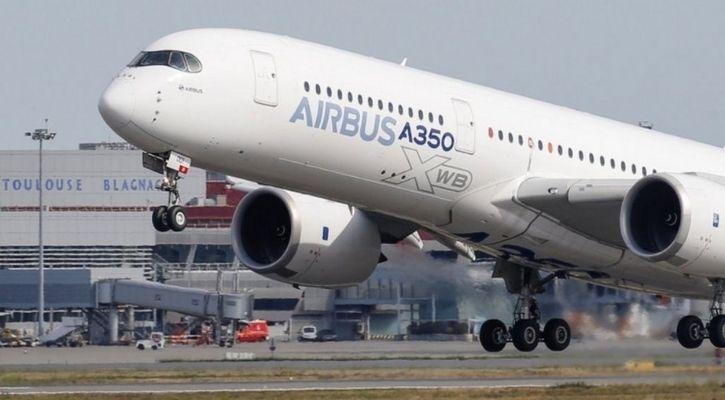 Airbus A350 autonomous flight