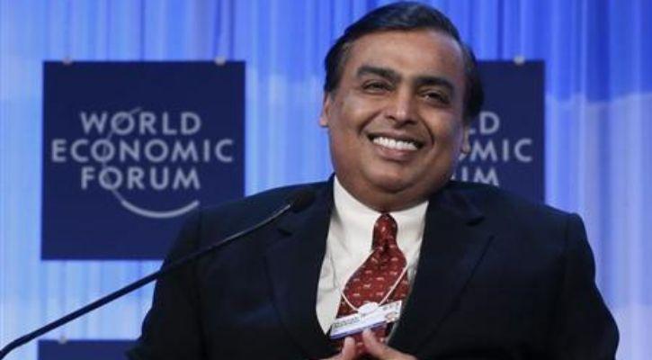 Mukesh Ambani smiling at Jio Platforms investment