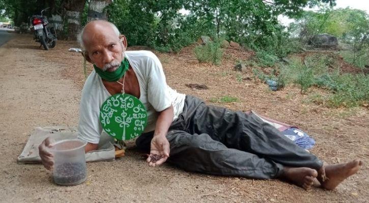 Vanajeevi Daripalli Ramaiah planting 10 million trees in Telangana