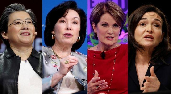 women ceo pay package bloomberg index
