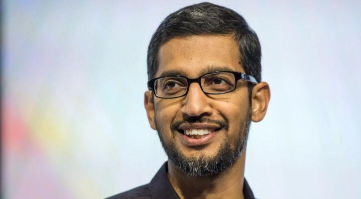 Sundar Pichai announcing Google Investment In India