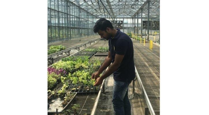 Sumant Bindal earns full scholarship to PhD in Plant Sciences in Australian National University