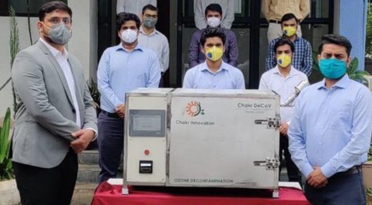 covid-19 mask cleaning and reuse machine