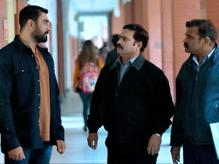 Kabir Sawant (Amit Sadh) and Prakash Kamble from Breathe: Into The Shadows.