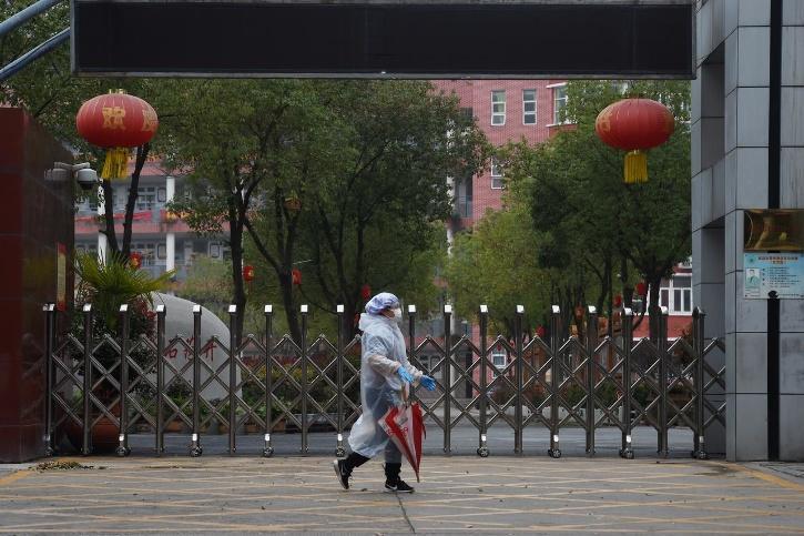 China COVID-19 checkpoint