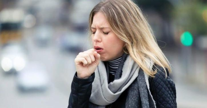 COVID-19 symptoms and coughing fever